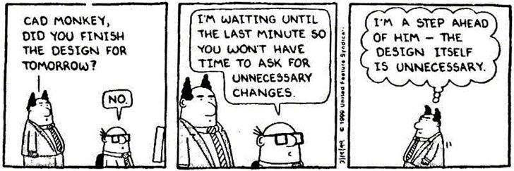 Dilbert (Comic copyright Scott Adams/Universal) is one of my favorite