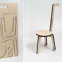 The Chip Factory Cut Out Chair