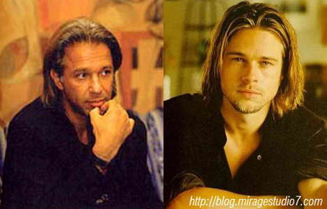 Eric Van Egeraat Brad Pit Famous Architects Separated at Birth