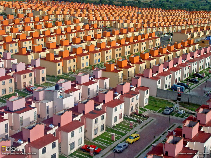 Mass Housing in Ixtapaluca, Mexico