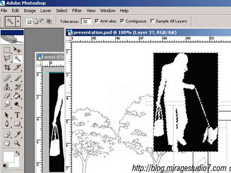 Photoshop Image Masking tutorial