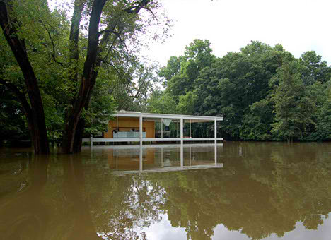Ludwig Mies Van de Rohe farnsworth house