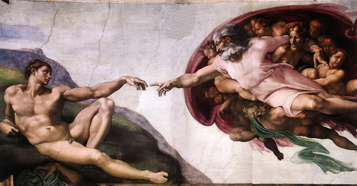creation of man architect