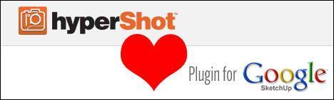 bunkspeed hypershot sketchup plugin 3d plugin