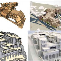 google_sketchup_3d_model_printing_service_architecture