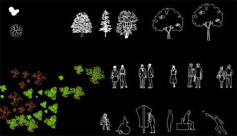 autocad_blocks_cad_people_tree_furniture