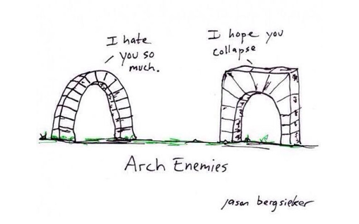 Architecture Fun comic