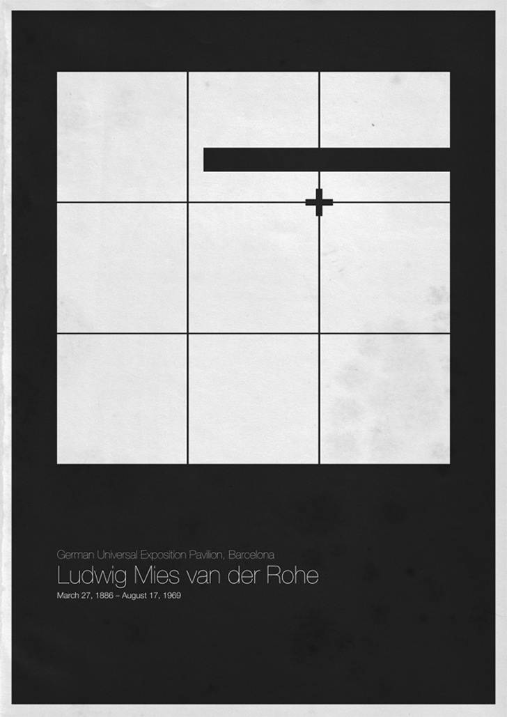 Ludwig Mies van der Rohe German Universal Exposition Pavilion Barcelona Spain
