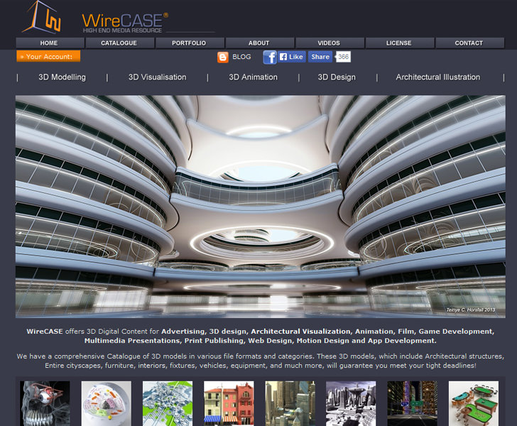 wirecase 3d model download free
