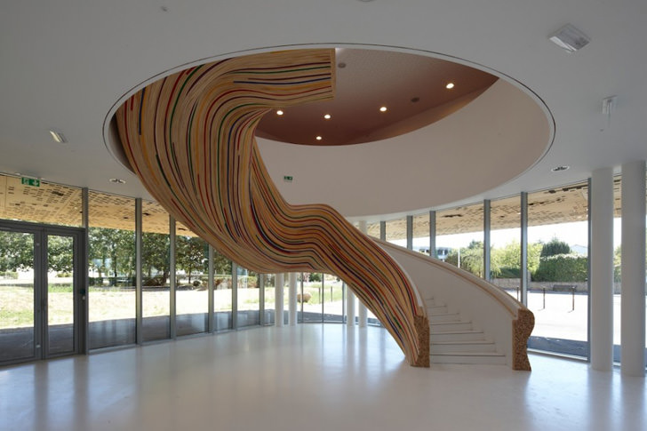 12 amazing and creative staircase design ideas for Escalier interieur moderne
