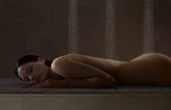 modern contemporary shower