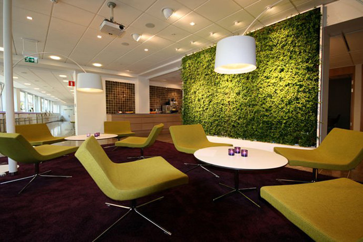 room divider design plant green sustainable