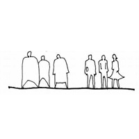 15 Drawings of Human Silhouettes by Famous Architects